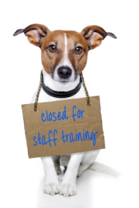 Shelter Closed for Staff Training