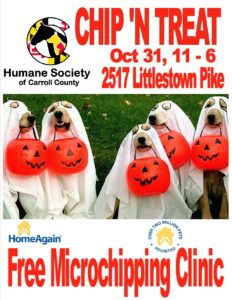 Chip N' Treat @ Humane Society of Carroll County | Westminster | Maryland | United States