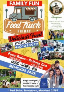Food Truck Friday Taneytown @ Taneytown Rec Park