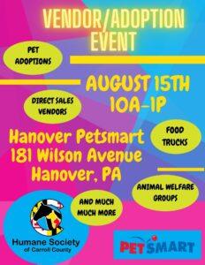 Mega-Adoption Event PetSmart Hanover @ PetSmart Hanover