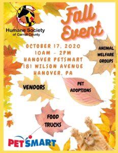 Fall Vendor/Adoption Event @ Petsmart