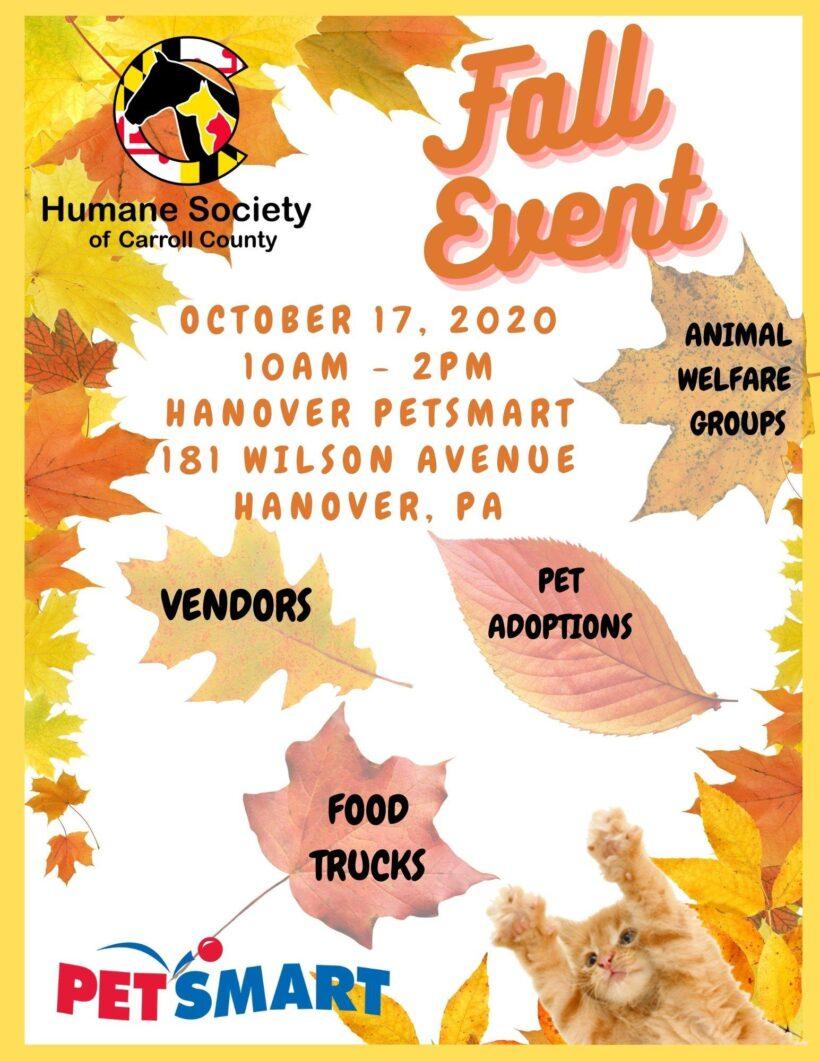 Fall Vendor/Adoption Event