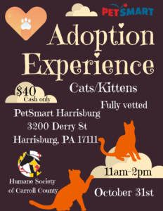 PetSmart Adoption Experience @ PetSmart Harrisburg