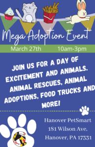 Mega Adoption Event @ PetSmart Hanover