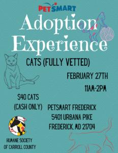Adoption Experience @ PetSmart Frederick