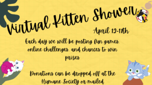 Virtual Kitten Shower @ Humane Society of Carroll County | Westminster | Maryland | United States
