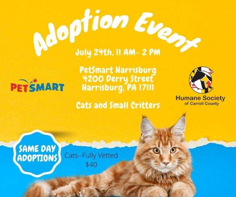 Adoption Event – PetSmart Harrisburg