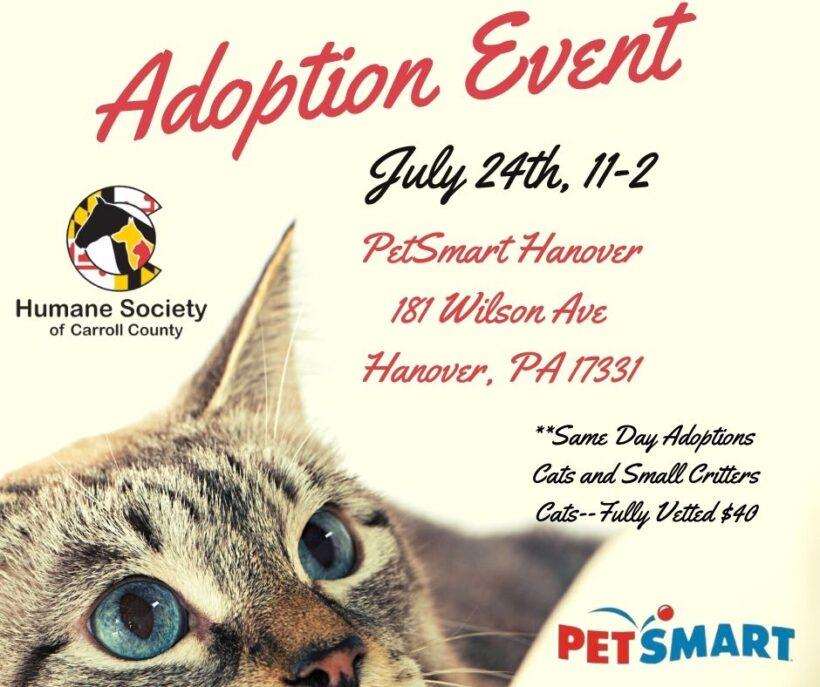 Adoption Event – PetSmart Hanover